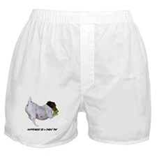 HAPPINESS IS A CHEW TOY Boxer Shorts