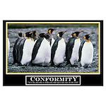 23x35 Original Conformity Motivational Poster
