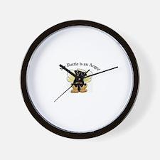 My Rottie is an Angel Wall Clock
