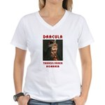 Dracula! Women's V-Neck T-Shirt