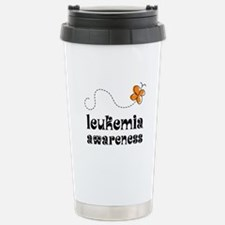 Leukemia Awareness Travel Mug