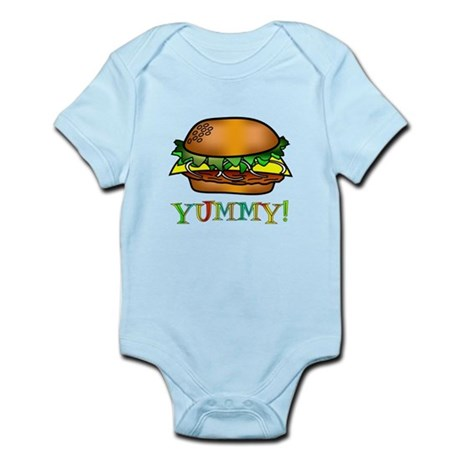 Hamburger Infant Bodysuit