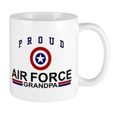 Proud Air Force Grandpa Mug