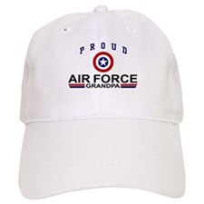 Proud Air Force Grandpa Baseball Cap