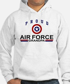 Proud Air Force Grandpa Hoodie