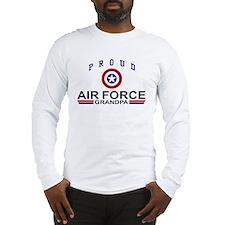 Proud Air Force Grandpa Long Sleeve T-Shirt