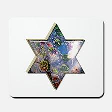 Jewish Star Mousepad