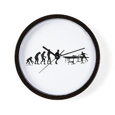 Pong Evolution Wall Clock