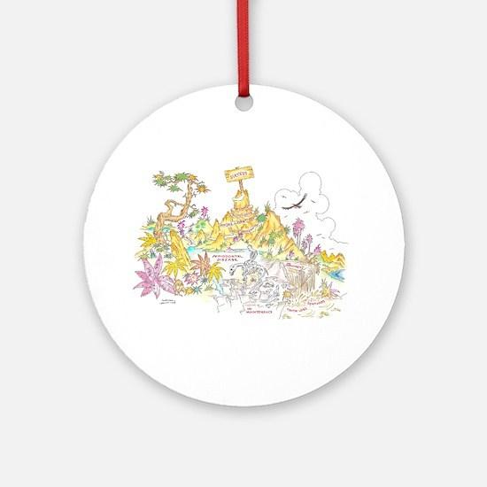 PERIDONTAL Ornament (Round)