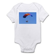 Colorful Powered Parachute Infant Bodysuit