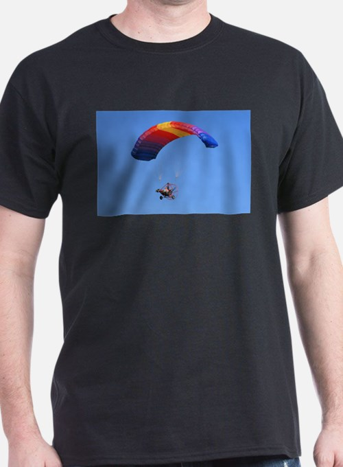 Colorful Powered Parachute T-Shirt