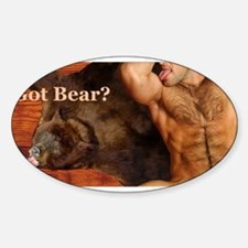 Got Bear? AriesArtist.com Oval Decal