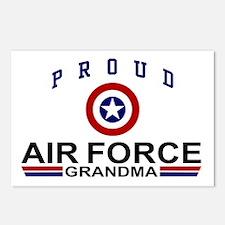 Proud Air Force Grandma Postcards (Package of 8)