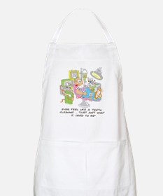 ... just ain't what it used t BBQ Apron