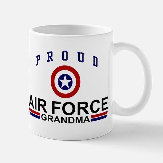 Proud Air Force Grandma Mug