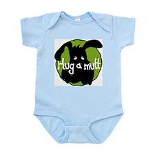 Hug a Mutt Logo Infant Creeper