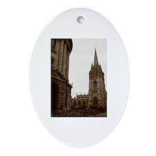 Oxford Oval Ornament