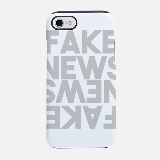 Fake News Post Truth Mirror Li iPhone 7 Tough Case