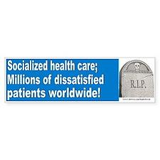 Dissatisfied patients (sticker)