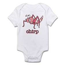 Pink Cricket Infant Bodysuit