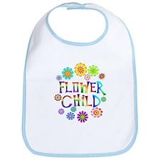 Flower Child Bib