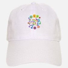 Flower Child Baseball Baseball Cap