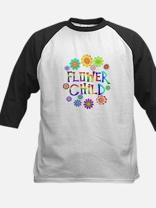 Flower Child Kids Baseball Jersey
