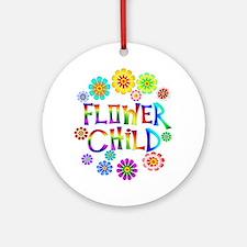 Flower Child Ornament (Round)