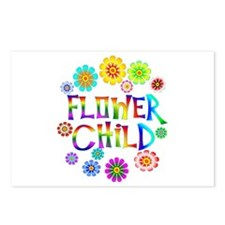 Flower Child Postcards (Package of 8)