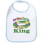 King Cake Party Bib
