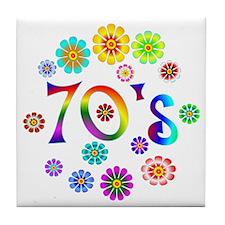 70s Tile Coaster