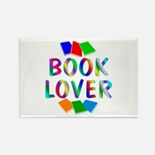 Book Rectangle Magnet