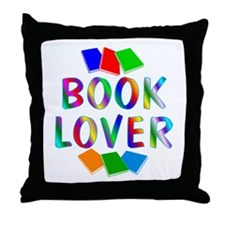 Book Throw Pillow