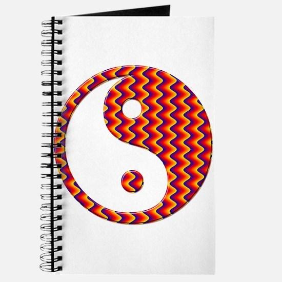 Zig Zag Yin Yang Journal