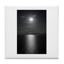 Moonlit Night Tile Coaster