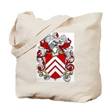 Banister Coat of Arms Tote Bag