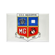 USS MAGOFFIN Rectangle Magnet