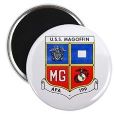 """USS MAGOFFIN 2.25"""" Magnet (10 pack)"""