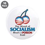 "A Poison Fruit 3.5"" Button (10 pack)"