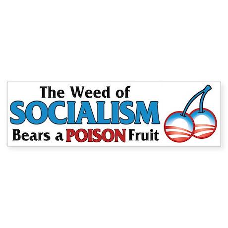 A Poison Fruit Bumper Sticker