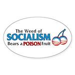 A Poison Fruit Oval Sticker