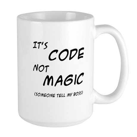Code Magic Large Mug