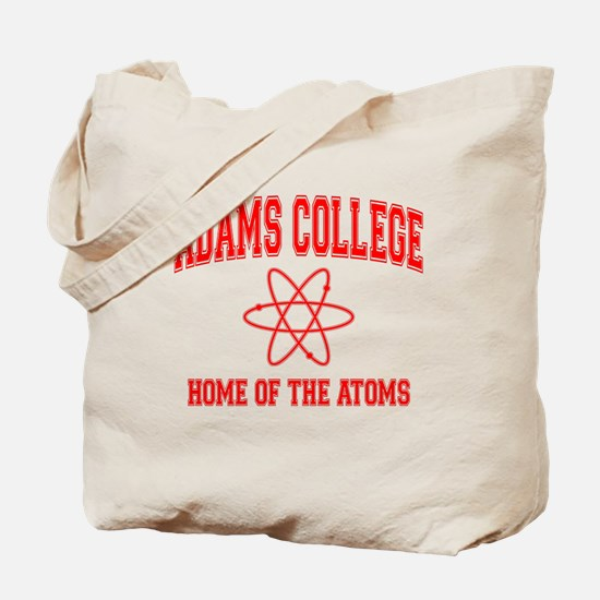 Adams College Tote Bag