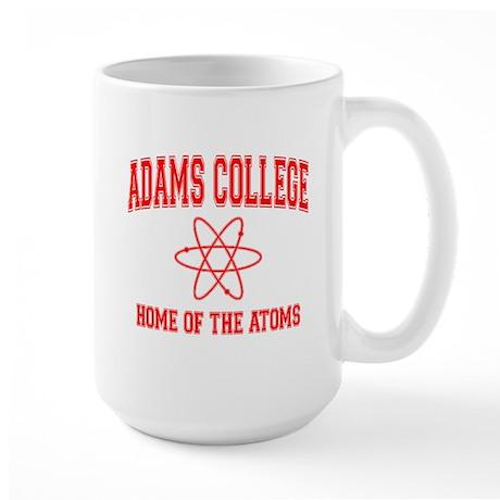 Adams College Large Mug