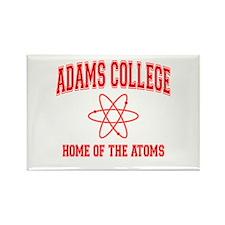 Adams College Rectangle Magnet