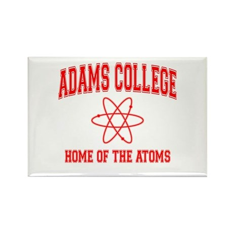 Adams College Rectangle Magnet