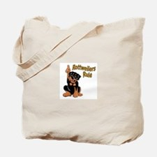 Rottweilers Rule Tote Bag