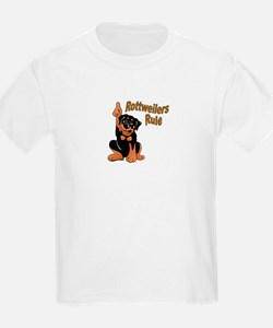 Rottweilers Rule Kids T-Shirt