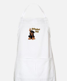 Rottweilers Rule BBQ Apron