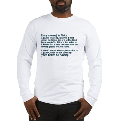 Morning in Africa Long Sleeve T-Shirt